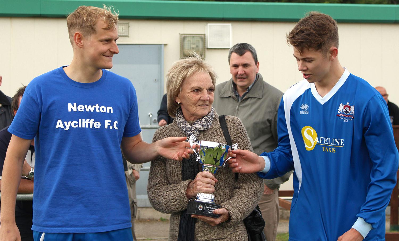 Aycliffe FC Retain Swinburne Trophy