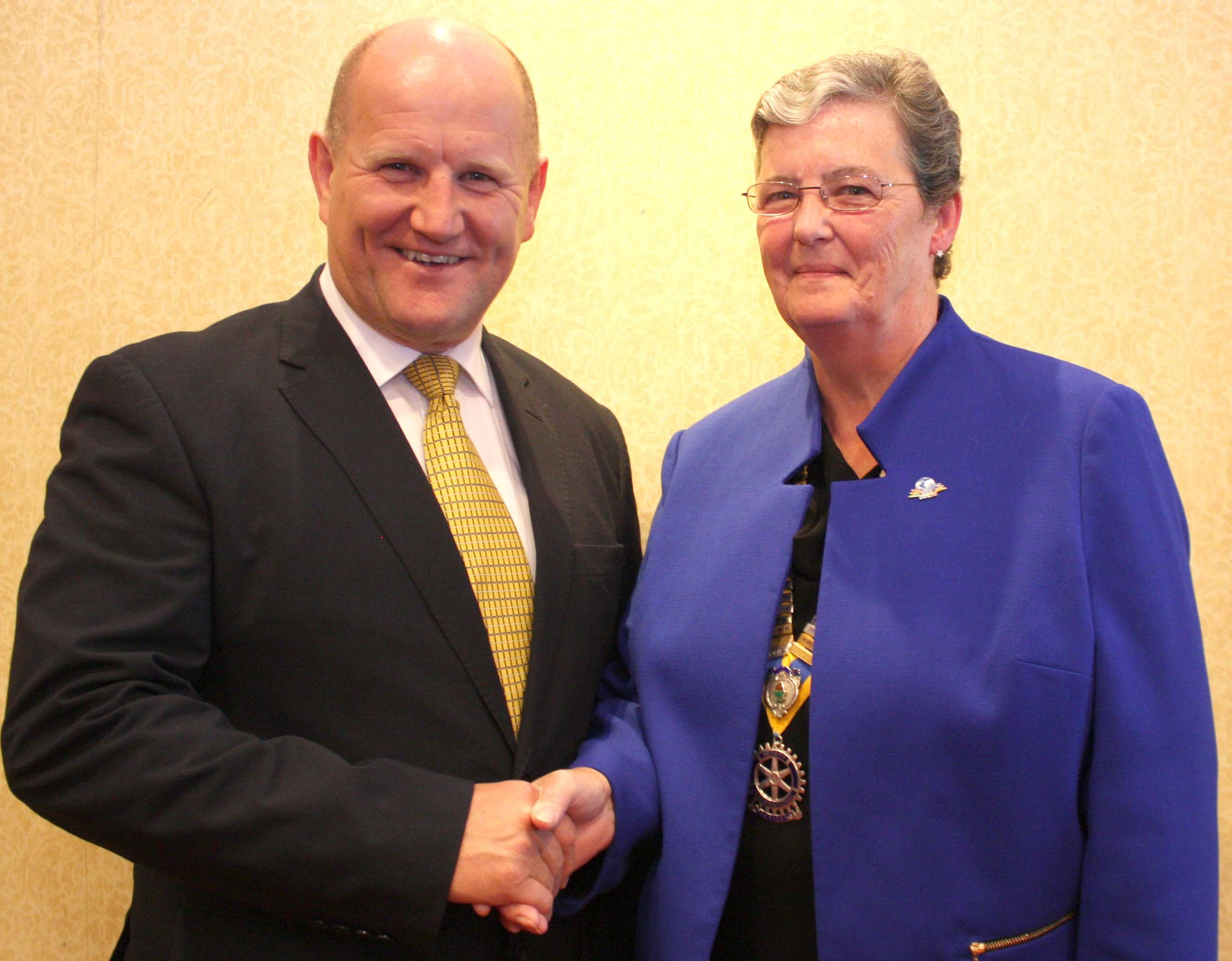 Chief Constable Talks to Rotary Club