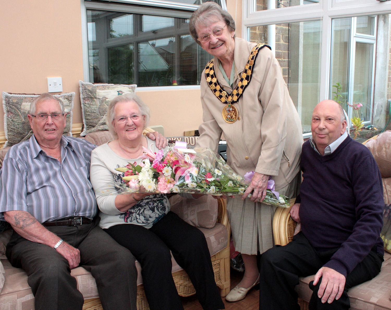 Aycliffe Couple's 60th Wedding Anniversary
