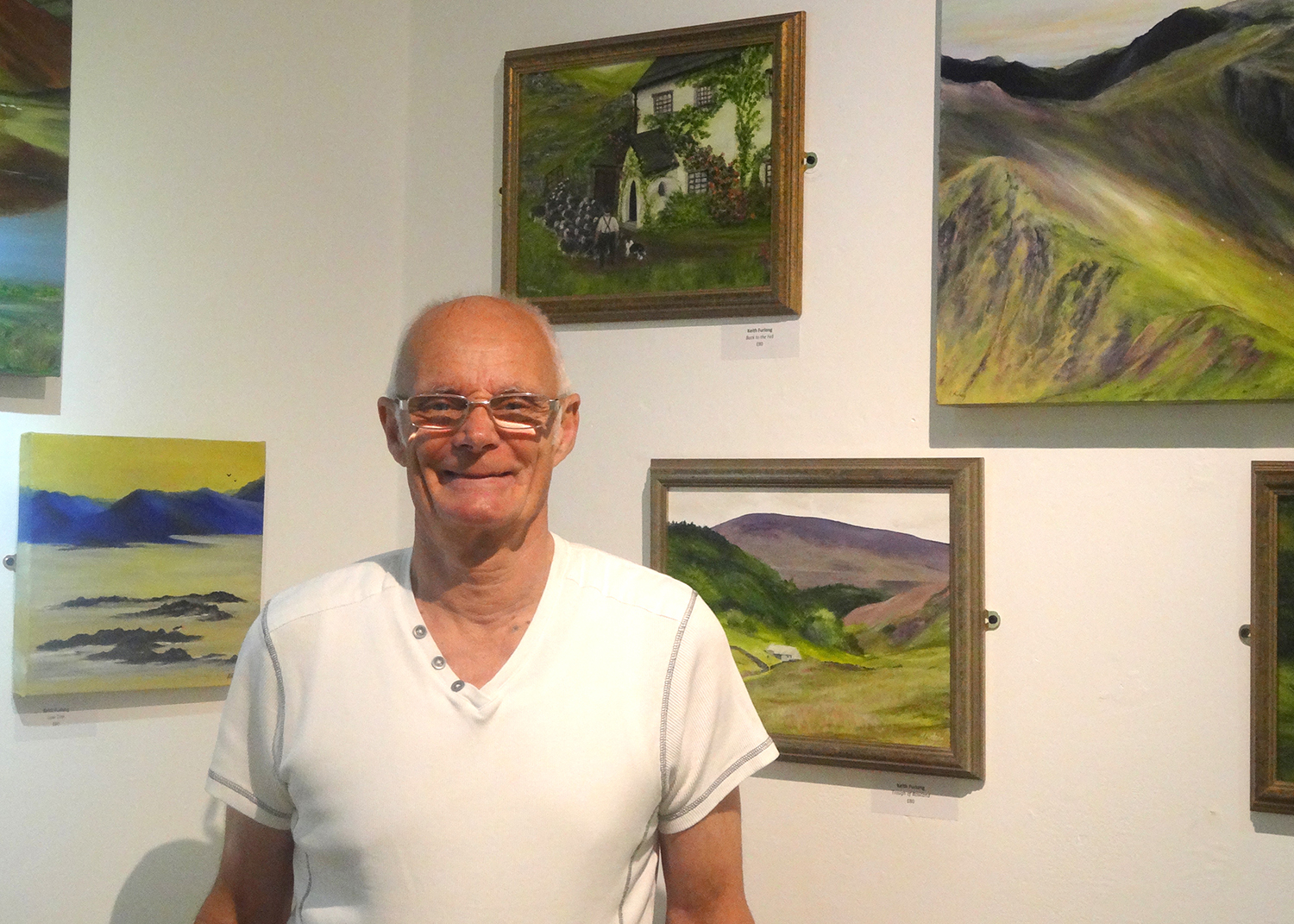 Local Artists Exhibit at Greenfield