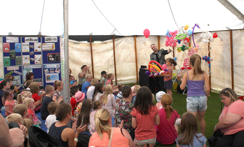 Town Council Fun Fair in the Parks Popular