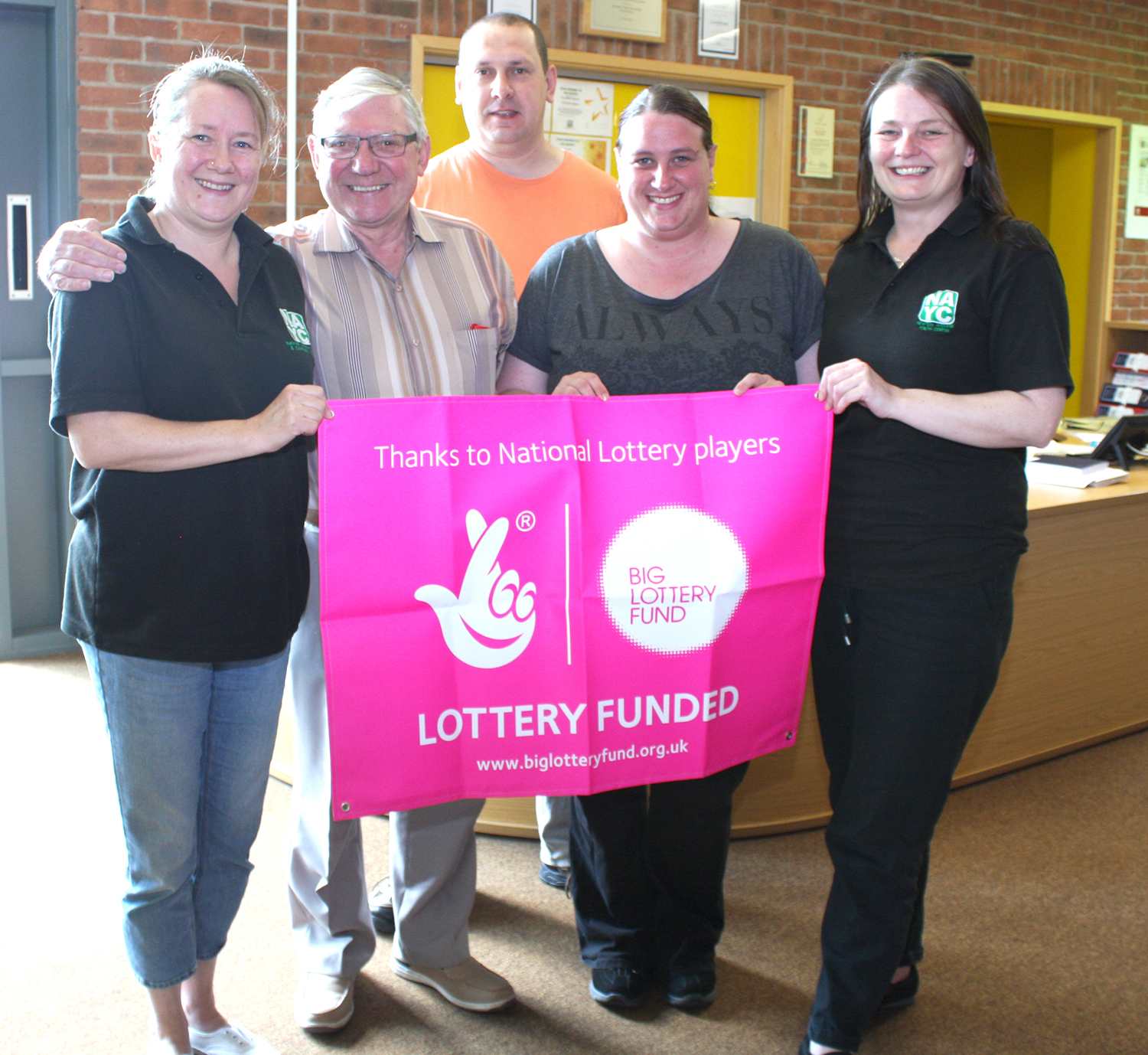 Big Lottery Award Ends Great Year for Youth & Community Centre