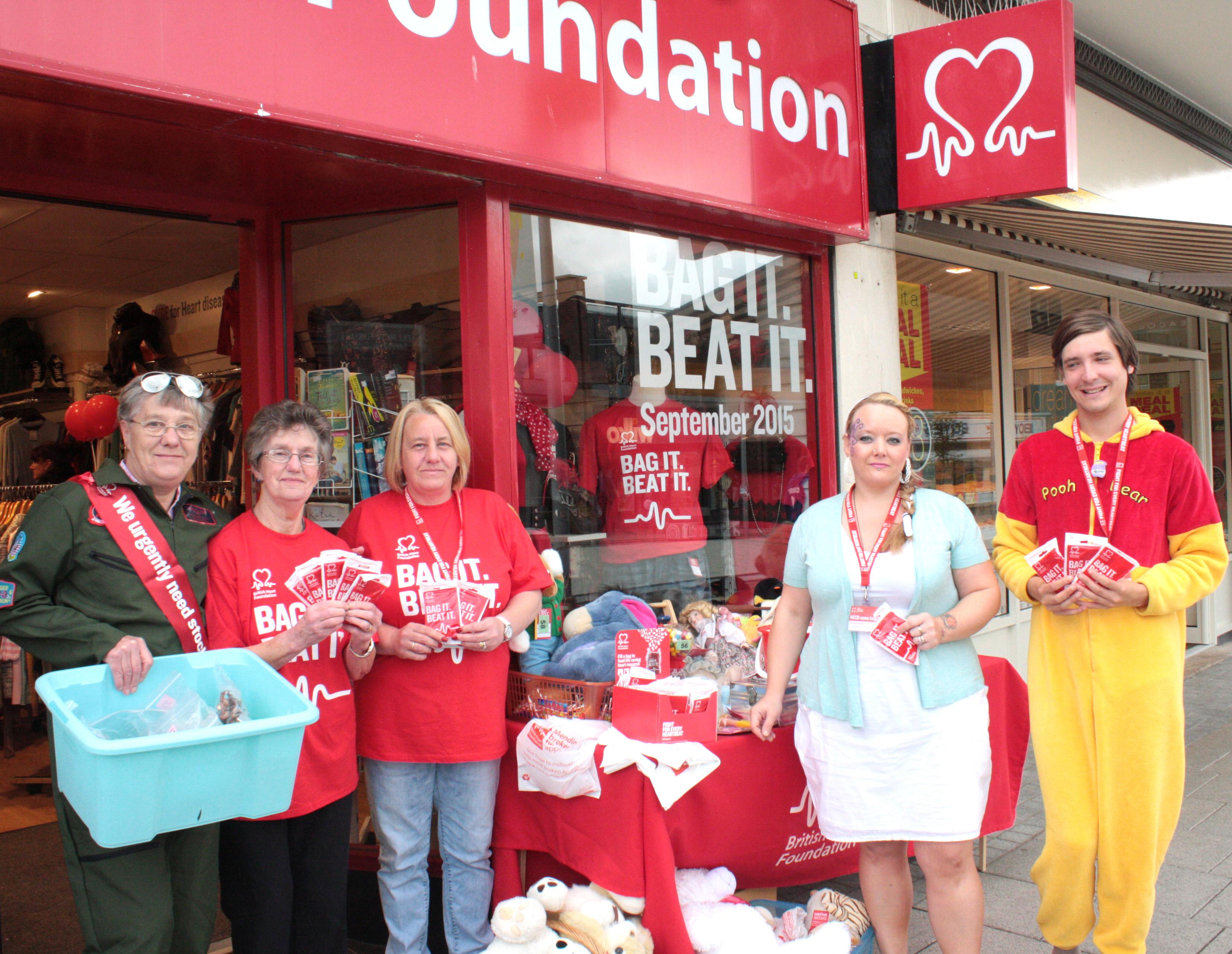 BHF Launch September Appeal for Unwanted Goods