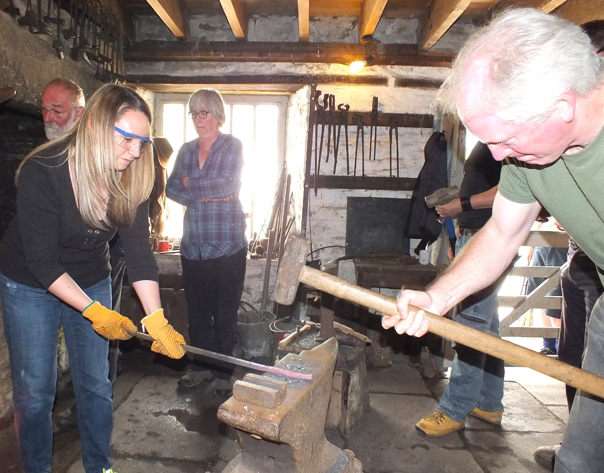 Forge a New Hobby at Blacksmith Session