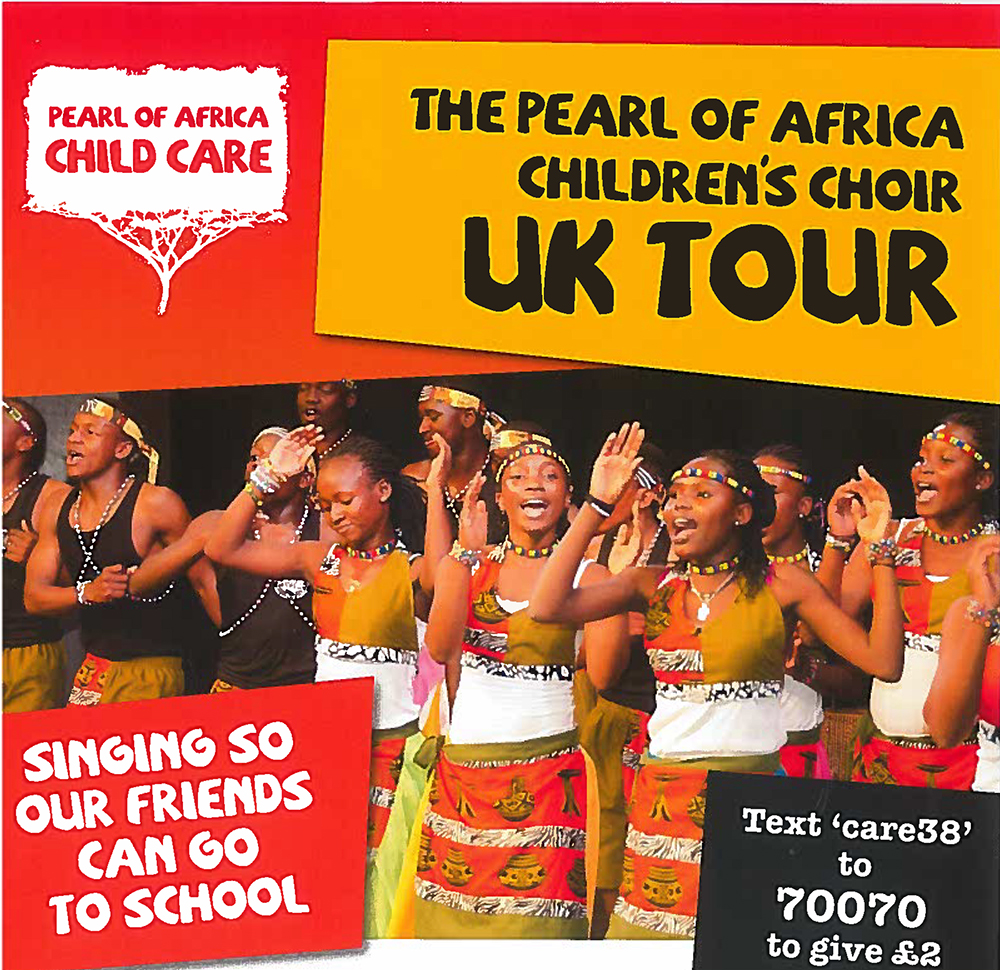 African Children's Choir Visits St. John's School