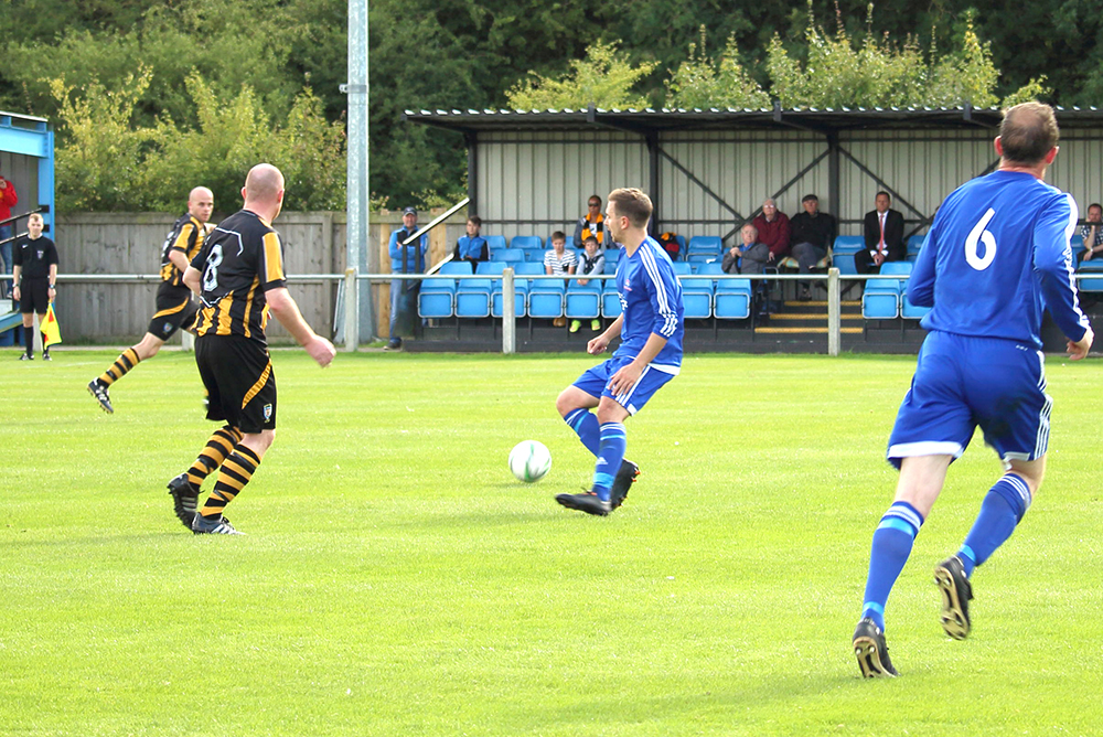 Aycliffe F.C. Reach F.A. Cup Qualifying Round