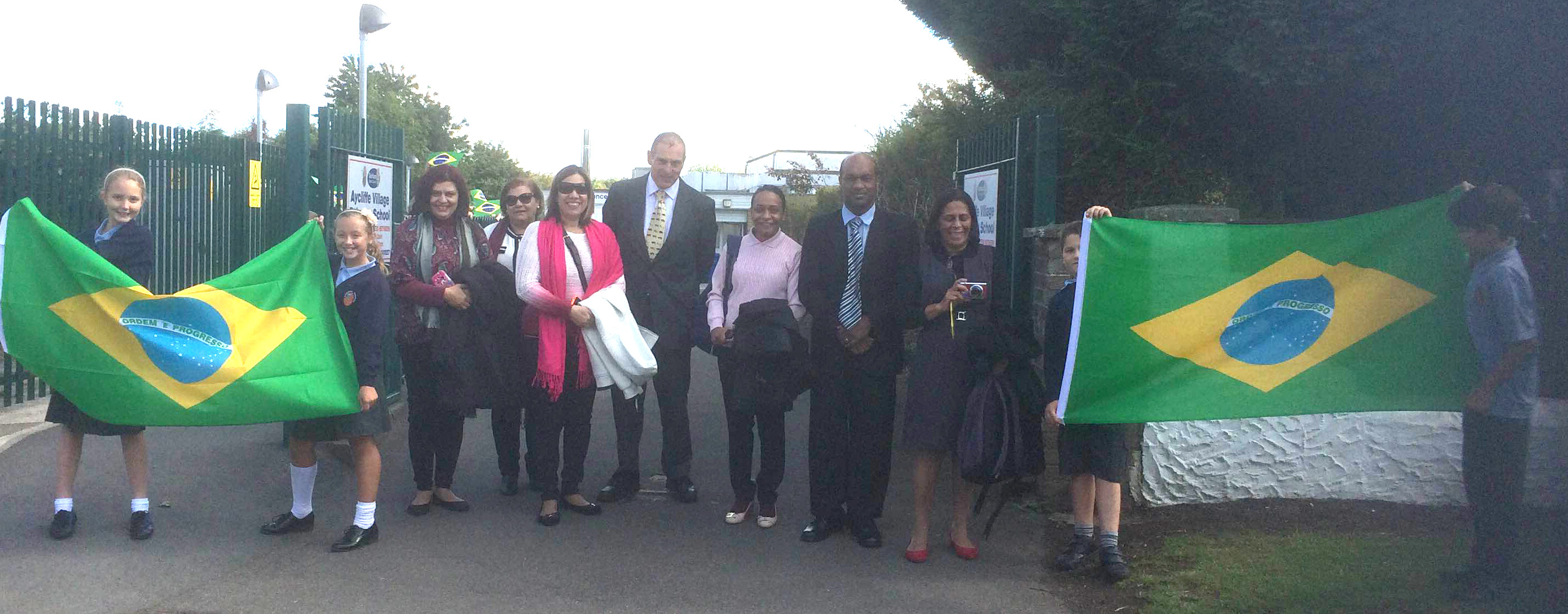 Brazilian Teachers Visit Aycliffe Village School