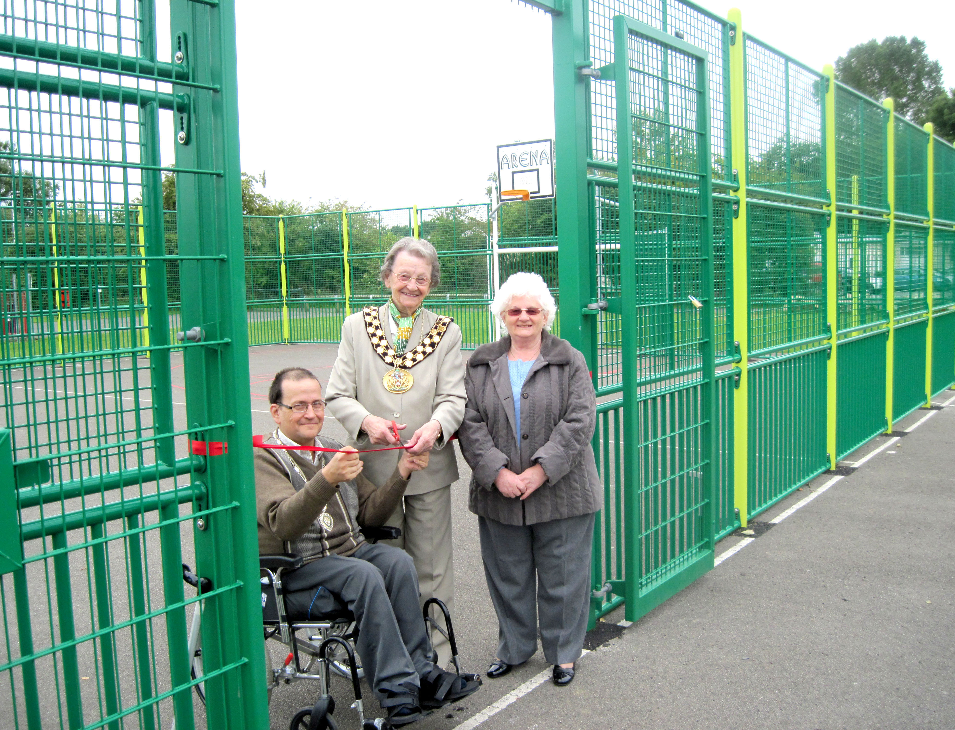 Multi-Use Games Area Open at Moore Lane Park