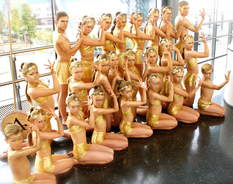 Athena Gymnasts at Sage Gymfusion Show