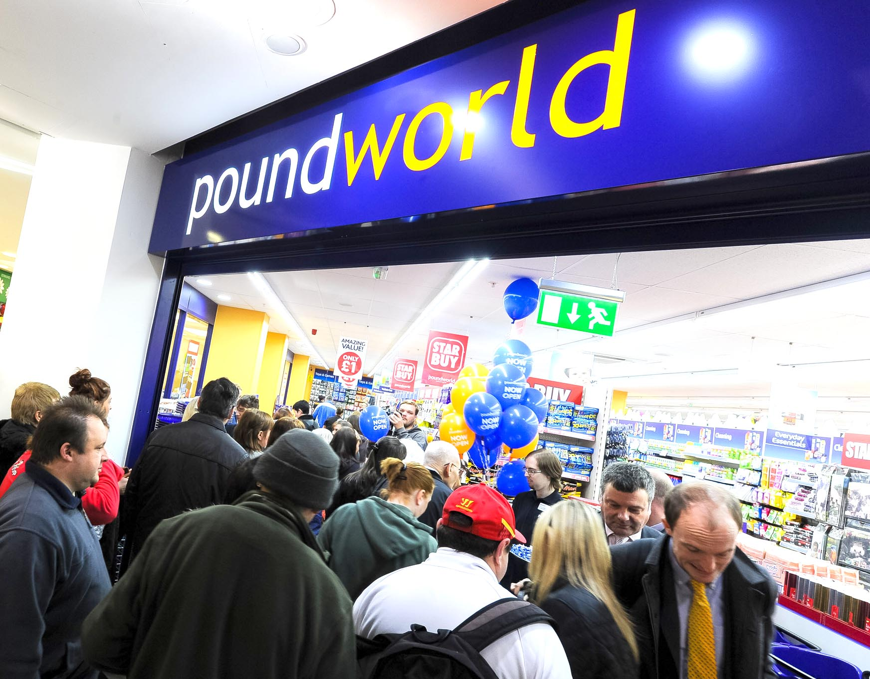 Town Mayor to Open New Poundworld Store