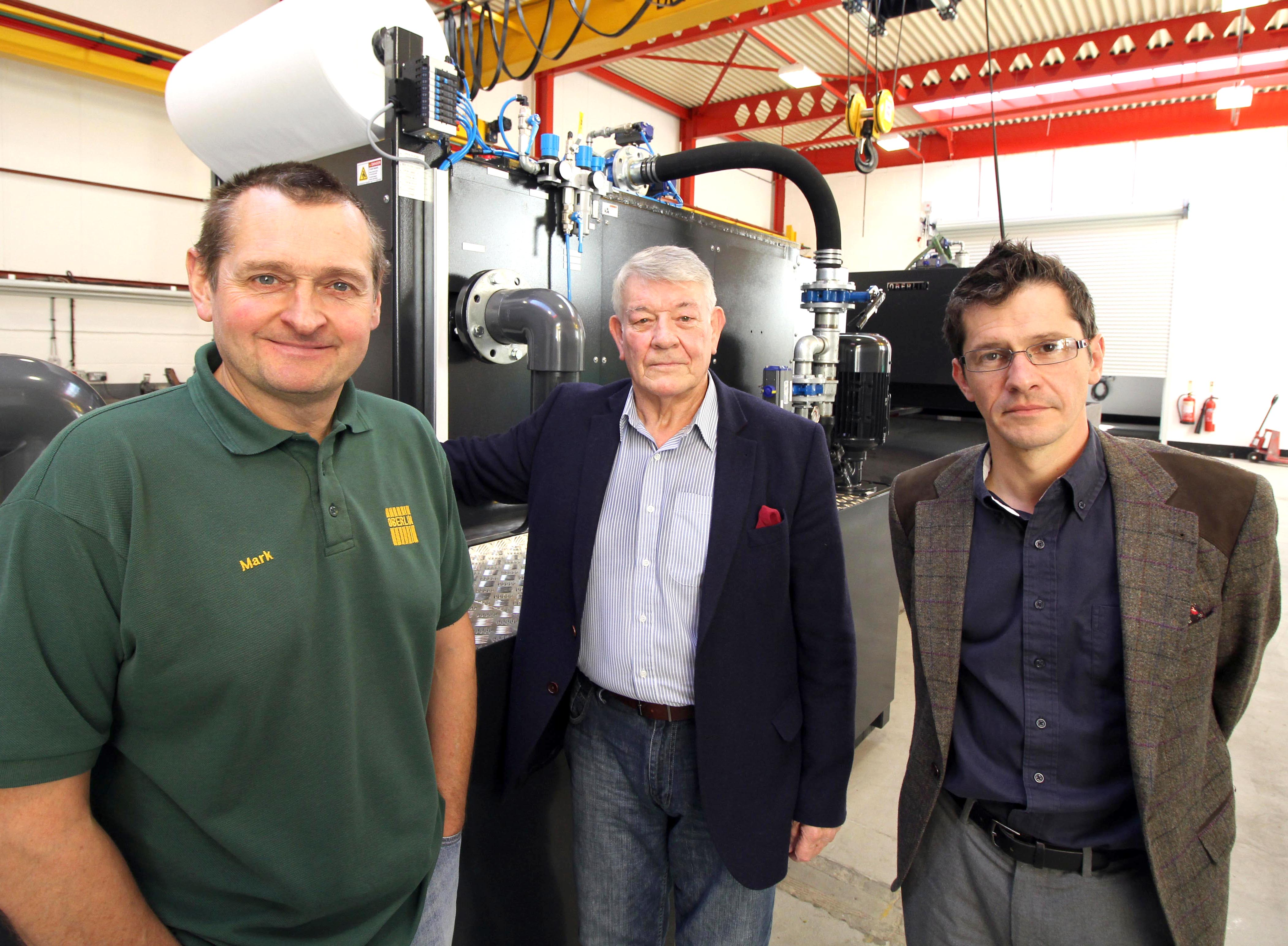 Aycliffe Company Moves to Larger Premises