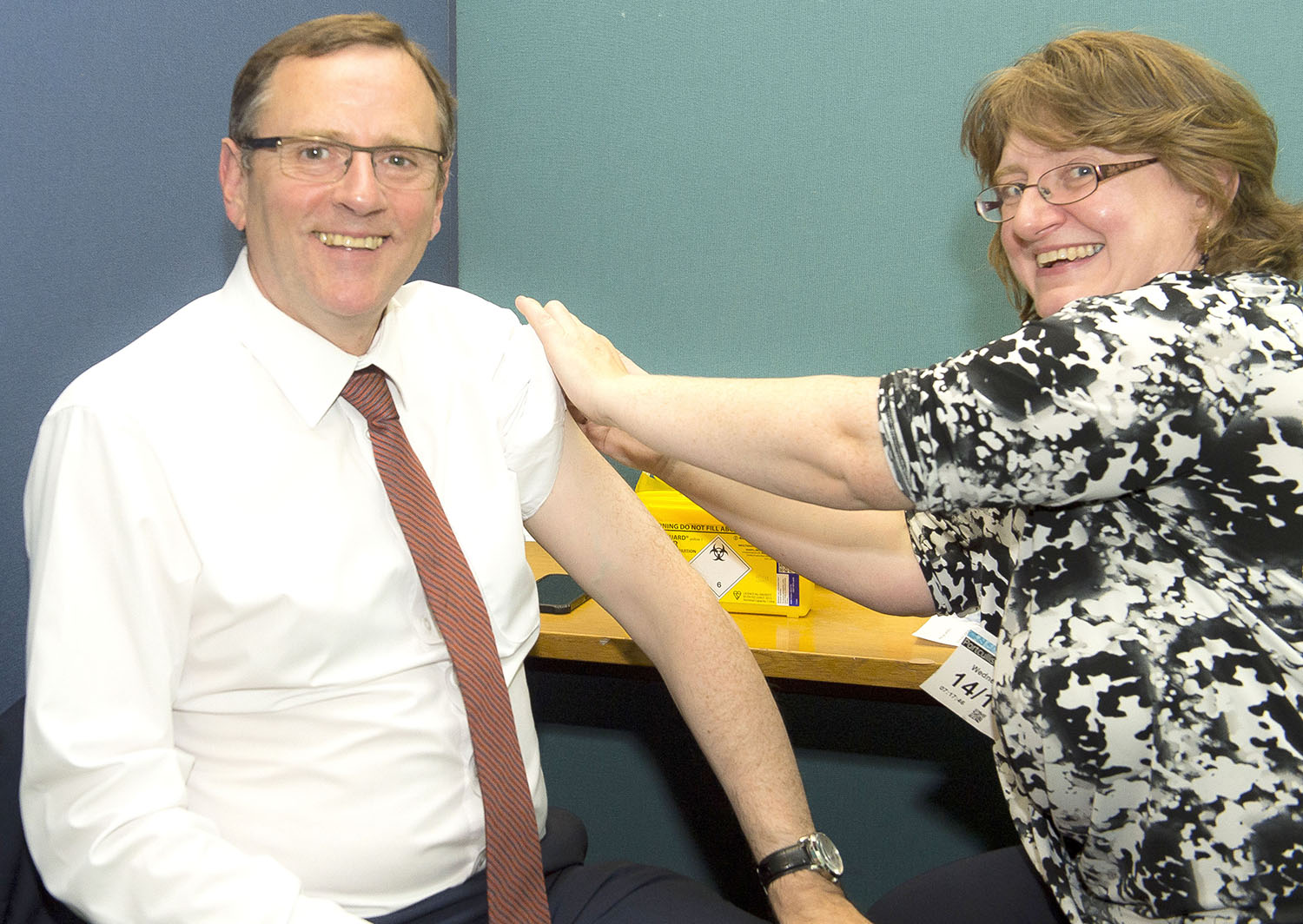 Don't Forget Your Flu Vaccine says M.P.