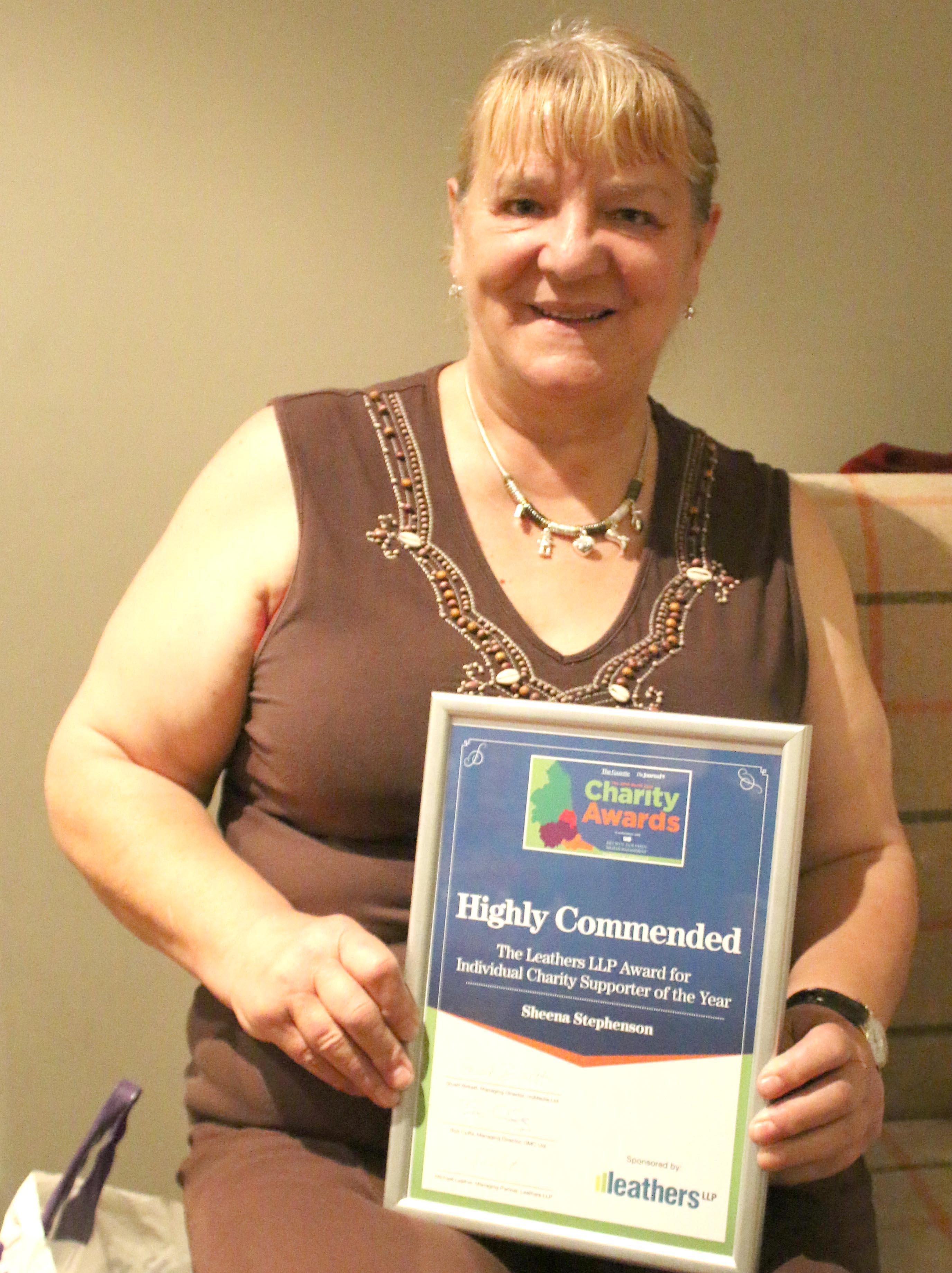 Volunteer Shortlisted for Regional Award