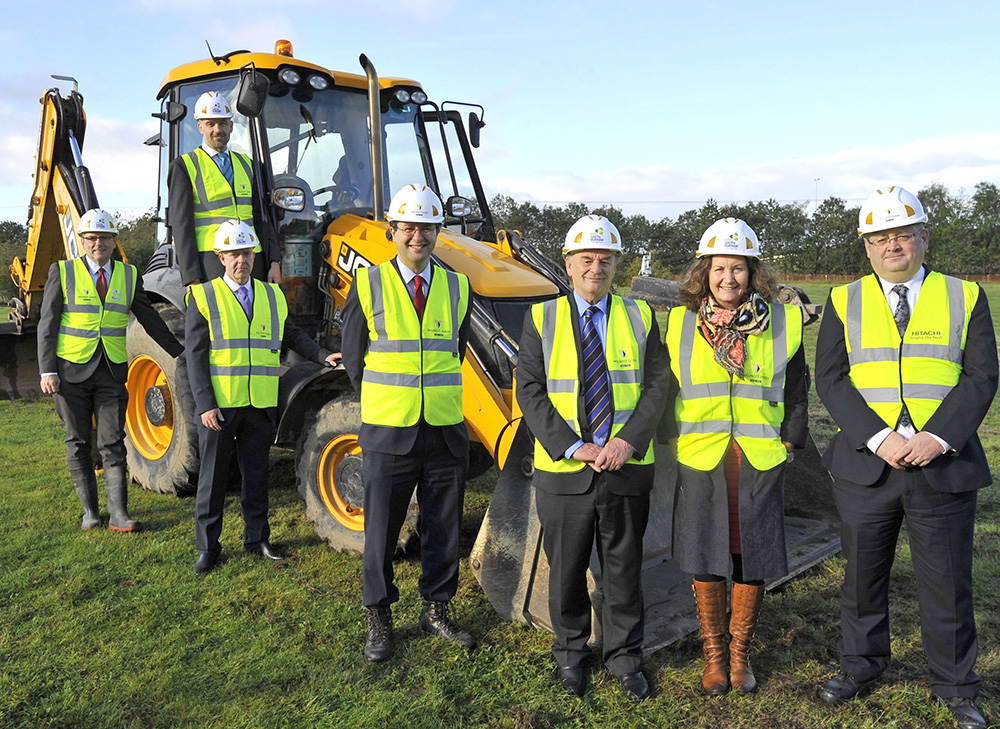 Building Starts On Aycliffe's University Technical College