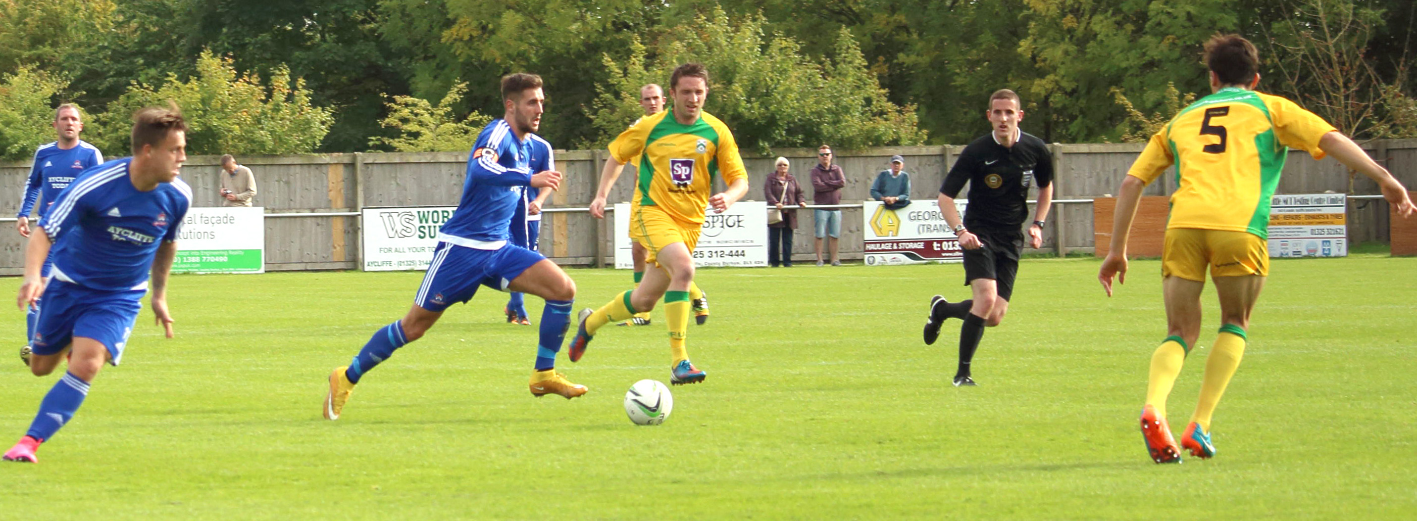 Aycliffe FC Score Four Goals in 10 Minutes