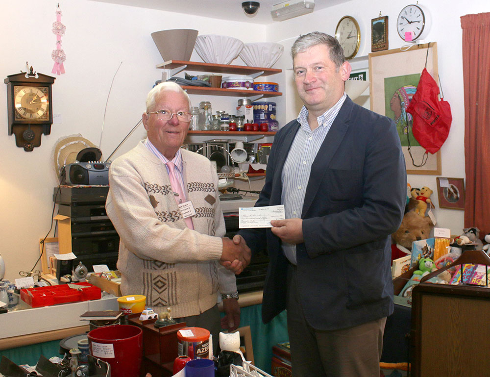 Charity Shop Helps Local Doctor's Charity Work