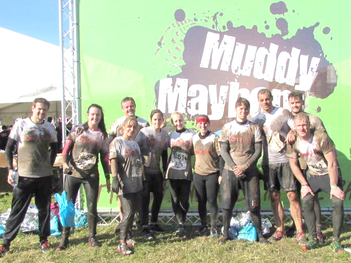 Muddy Mayhem at Hardwick Park