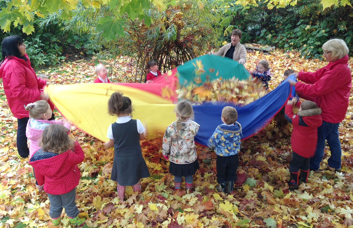 Woodham Burn Primary Takes Over Pre-School