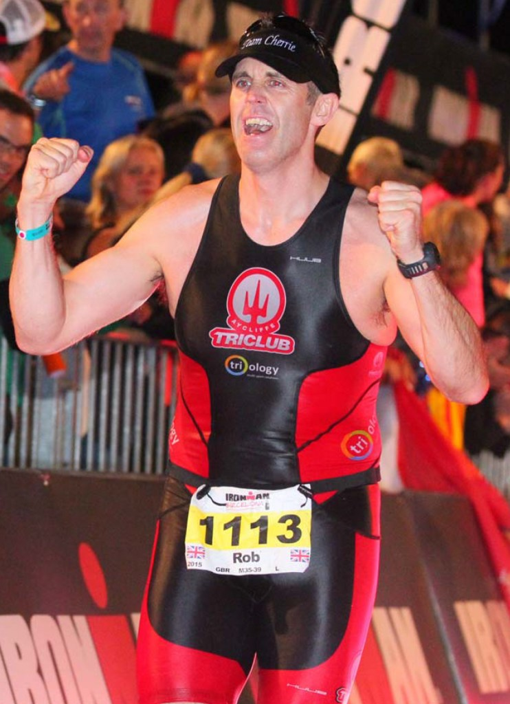 IRONMAN number 5 for Aycliffe Tri Club