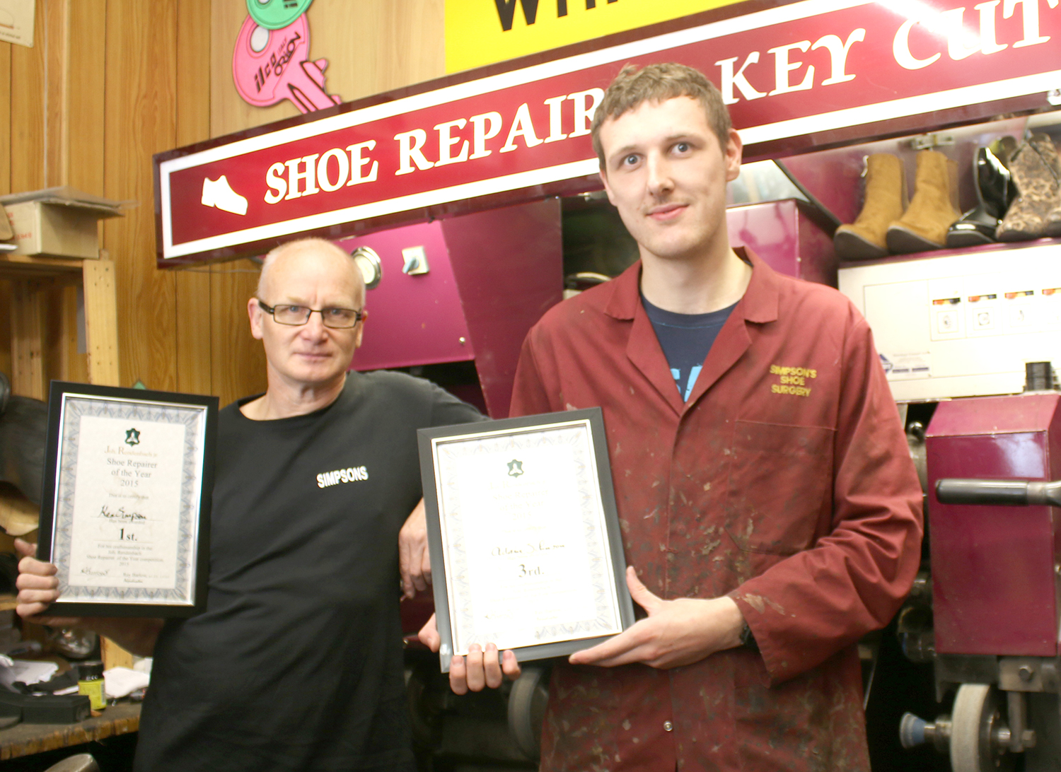 Local Cobblers Win First & Third Prize in National Competition