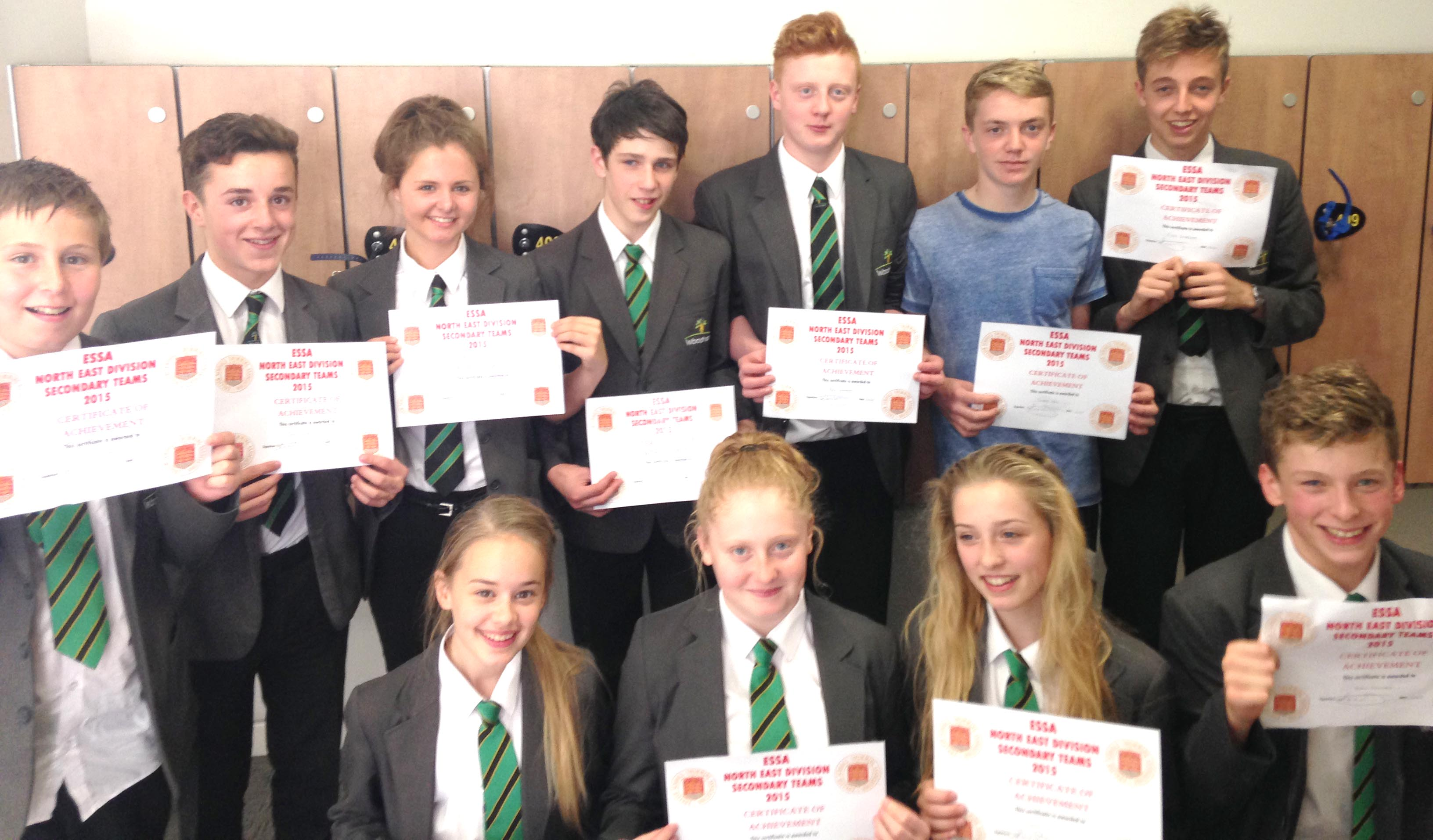 Great Swimming Results for Woodham Academy