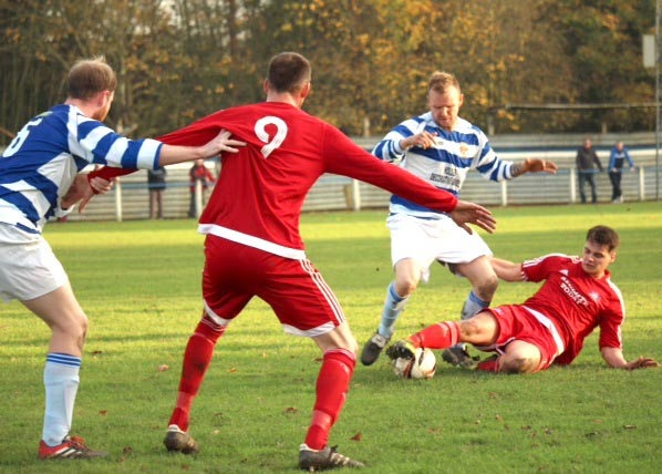 Aycliffe FC Win 4-0 in FA Vase Match