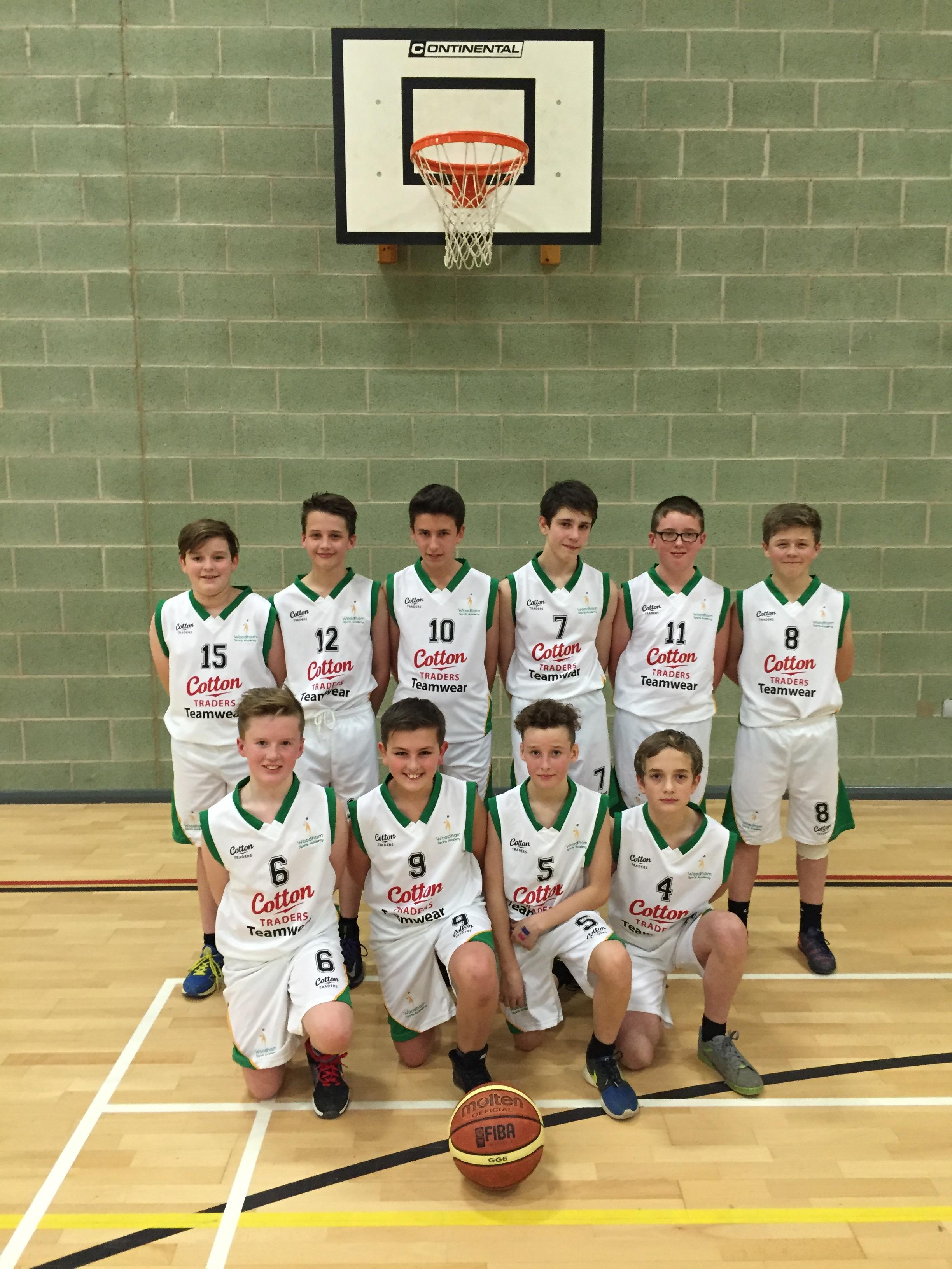 Woodham Academy Basketball Stars