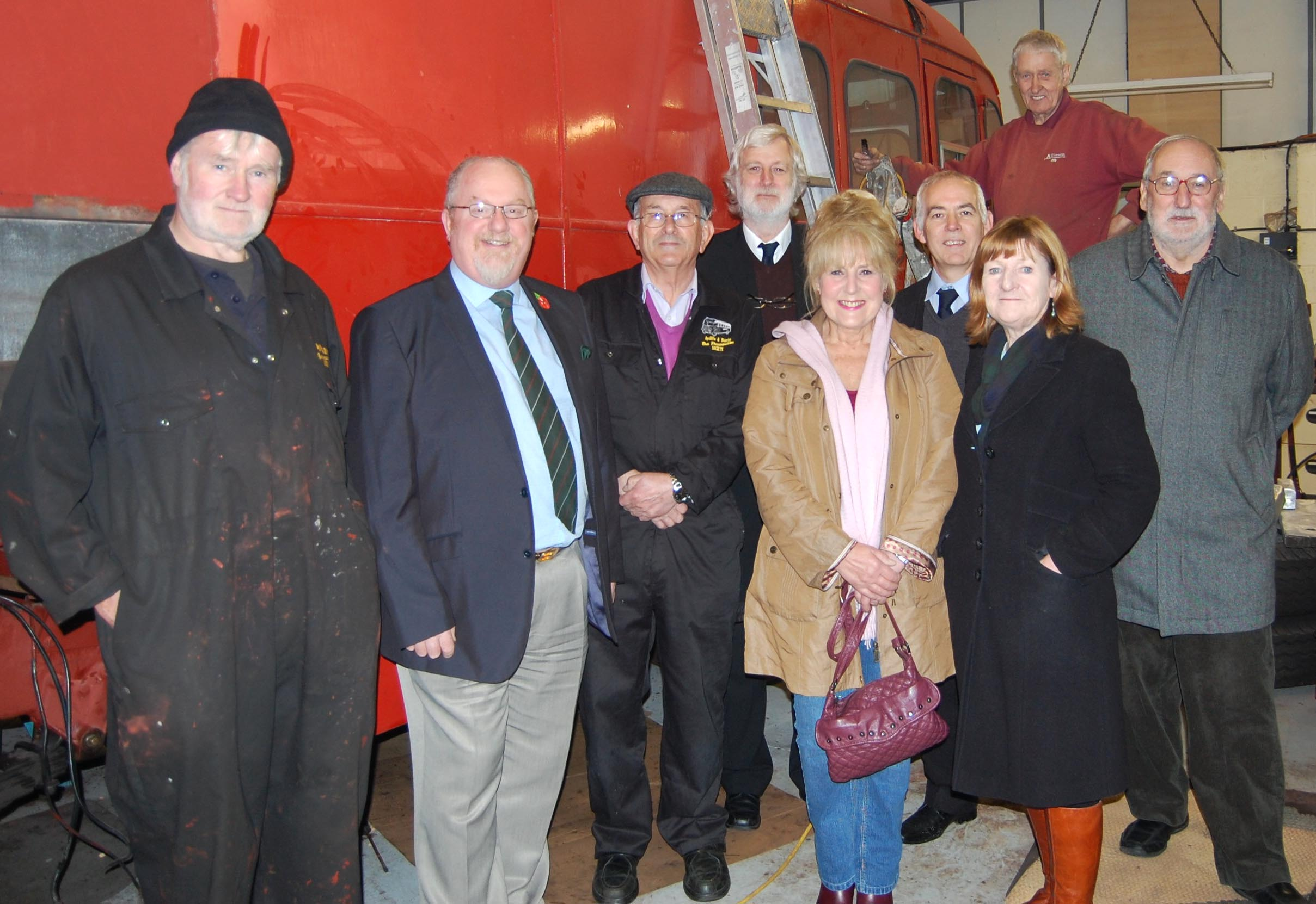 "Councillors Visit the ""Old Darling"""