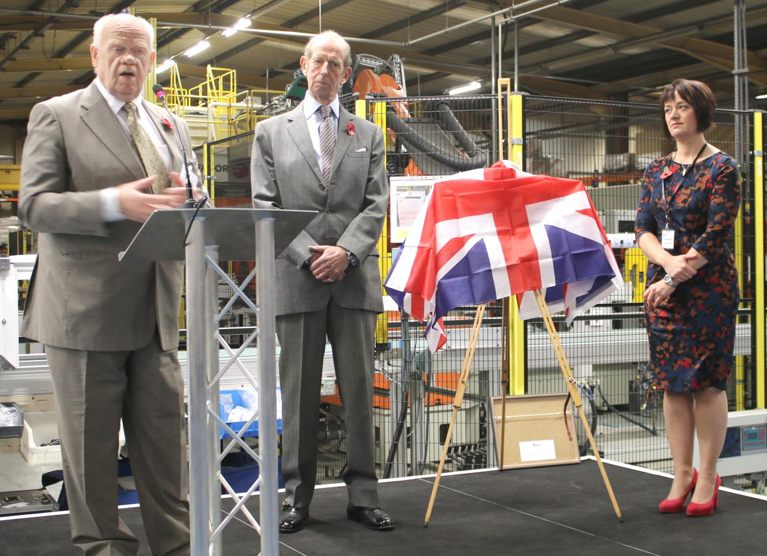 Duke of Kent Shows Support for British Manufacturing