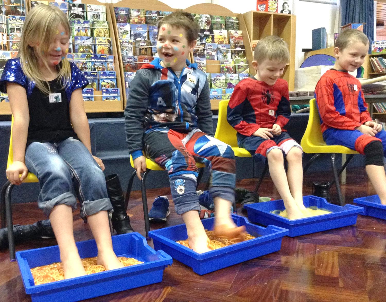 Horndale Raise £112 for Children in Need