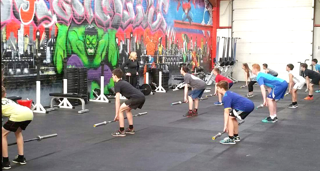 Livin Fund Free Crossfit Sessions for Young People
