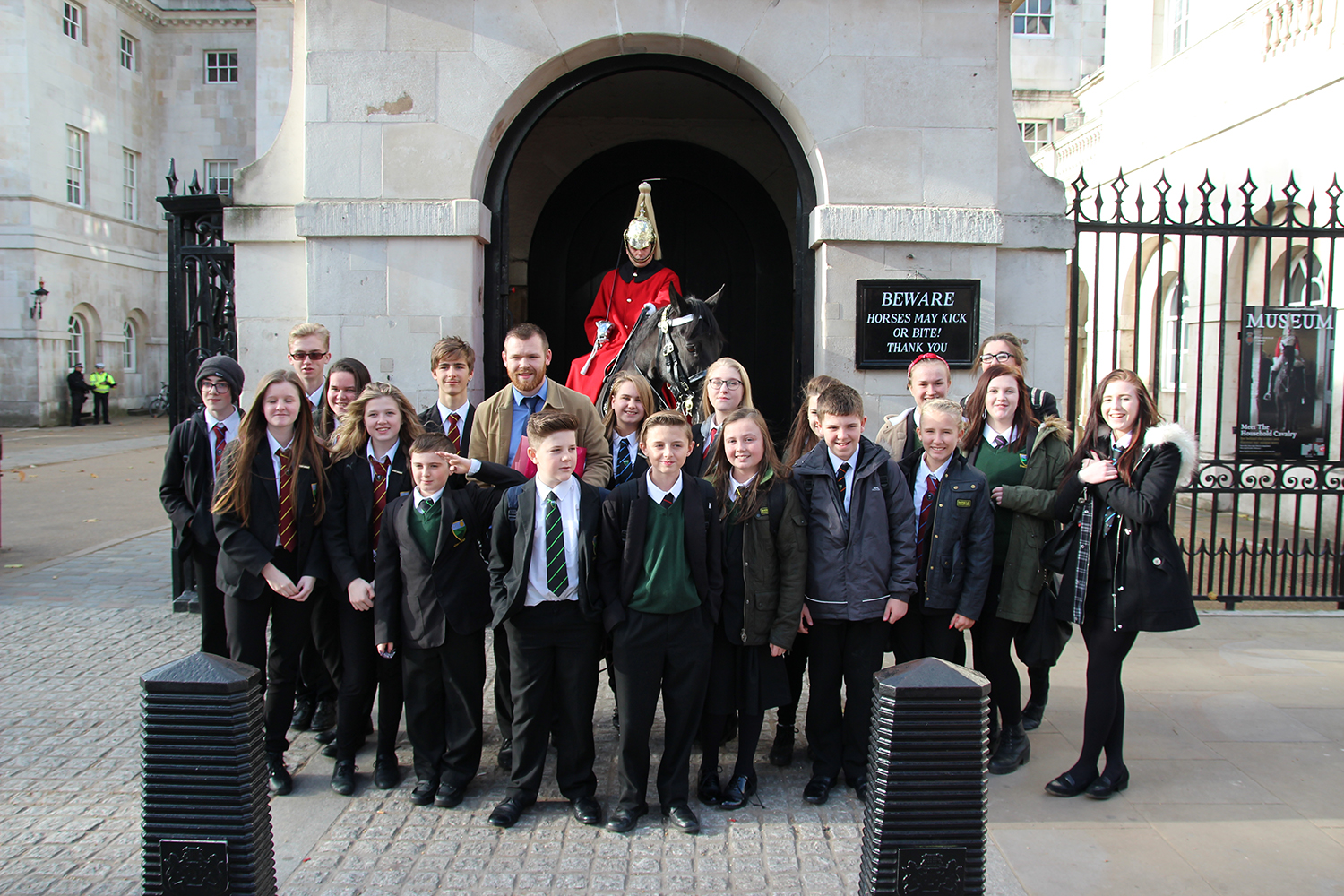 Greenfield Campus Visit to Parliament