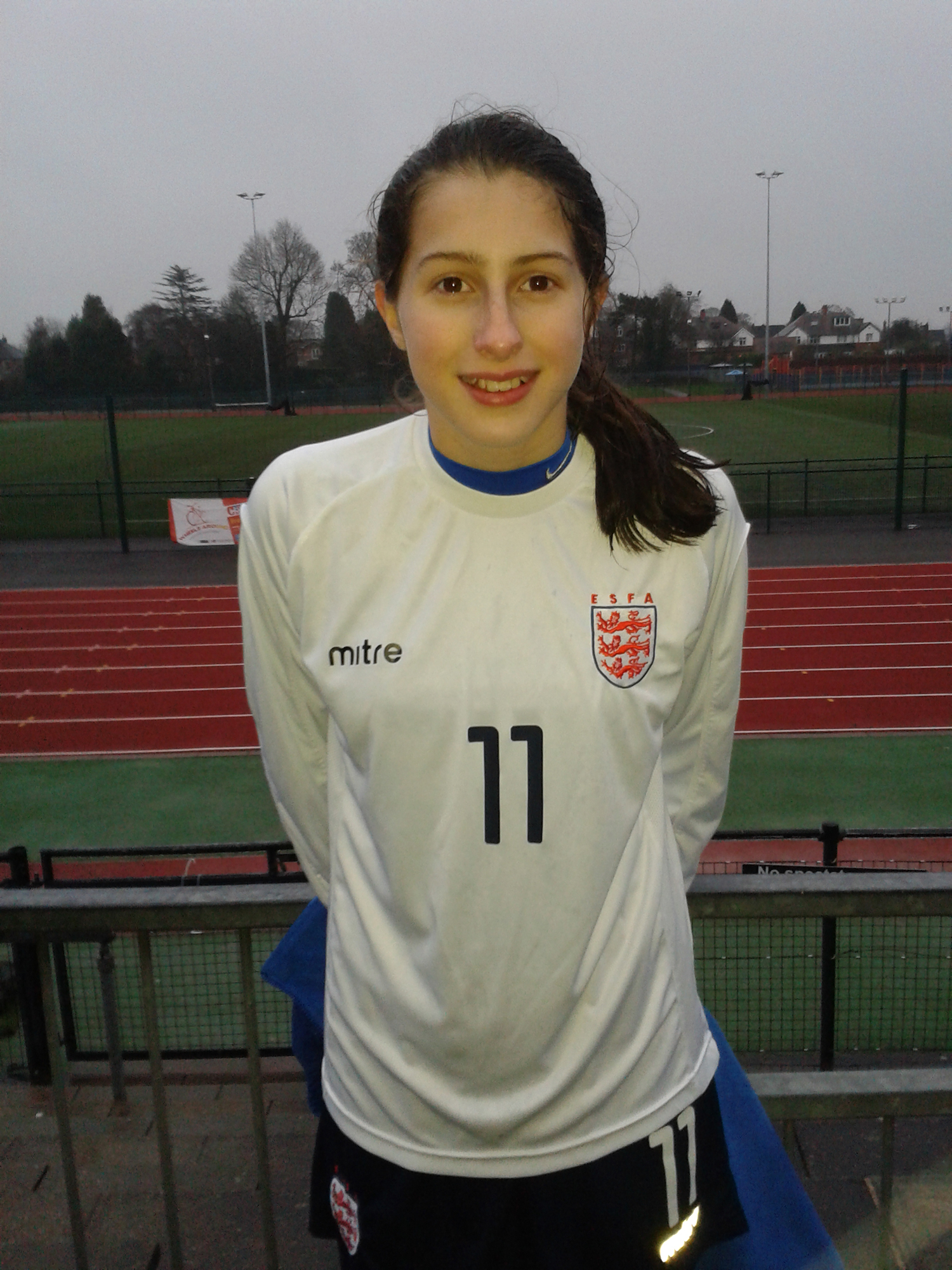 England Call for NAYFC Striker