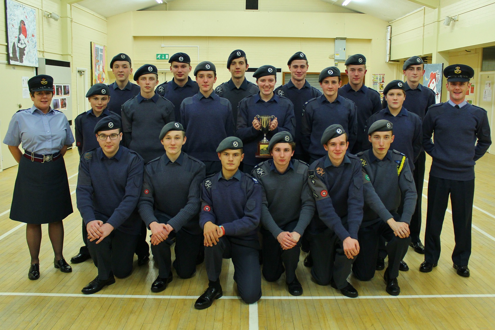 Cadets on Top Form