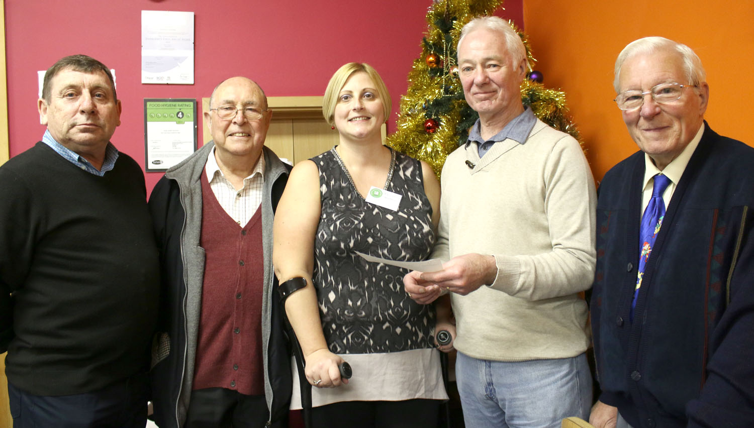 Aycliffe Masonic Lodge Helps Cancer Group