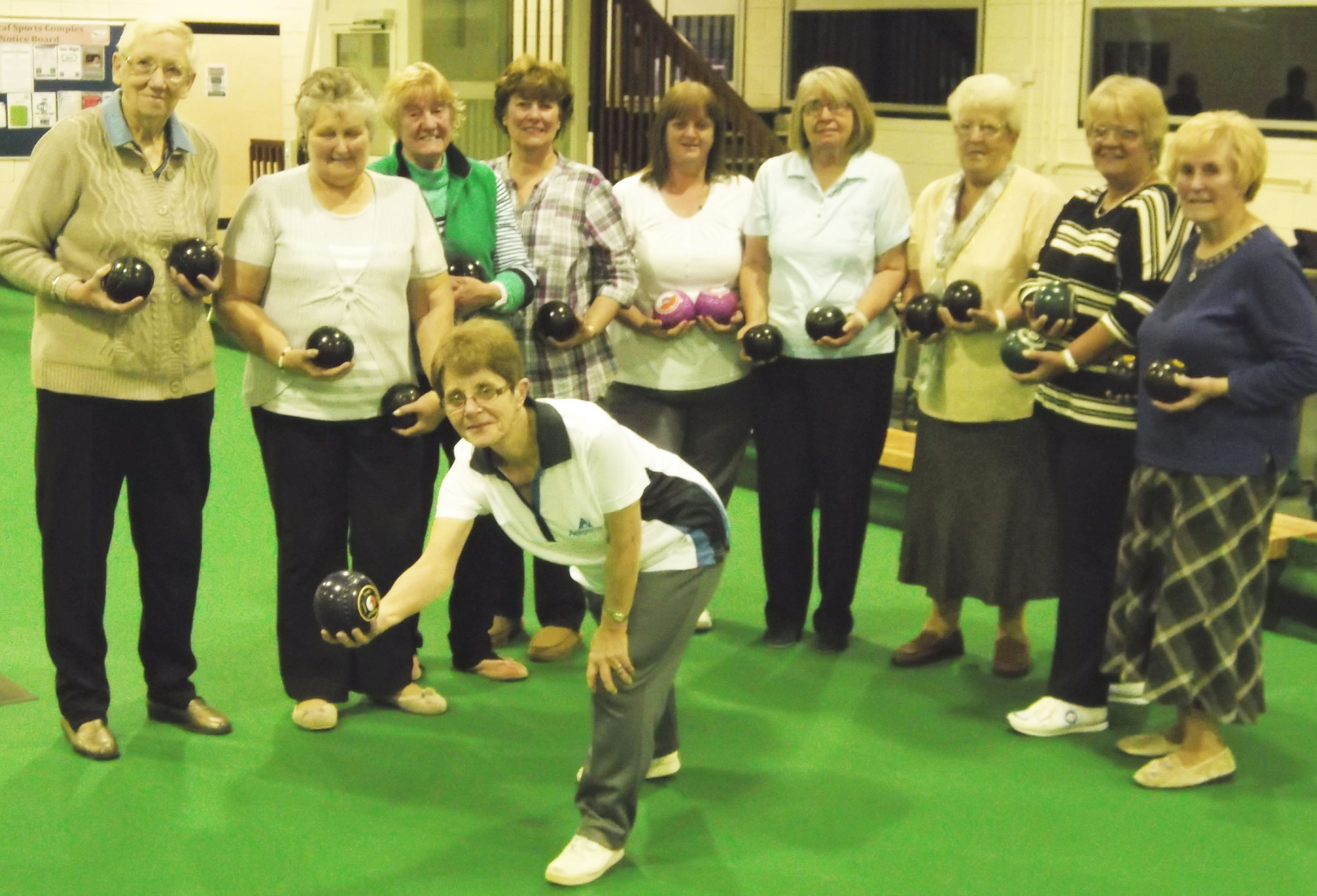 Town Group Bowled Over by GAMP Funding