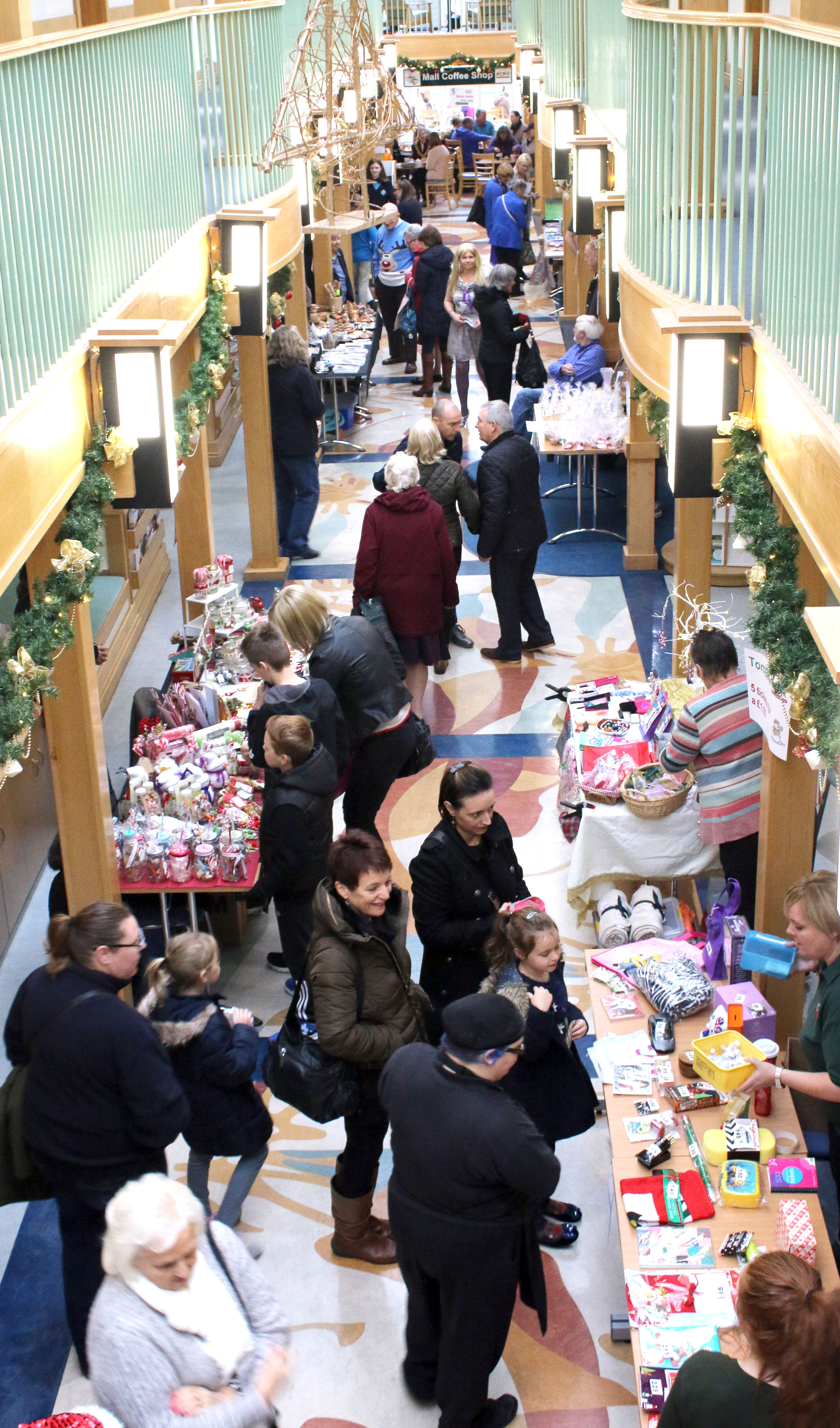 Large Numbers Visit PCP's Christmas Fair