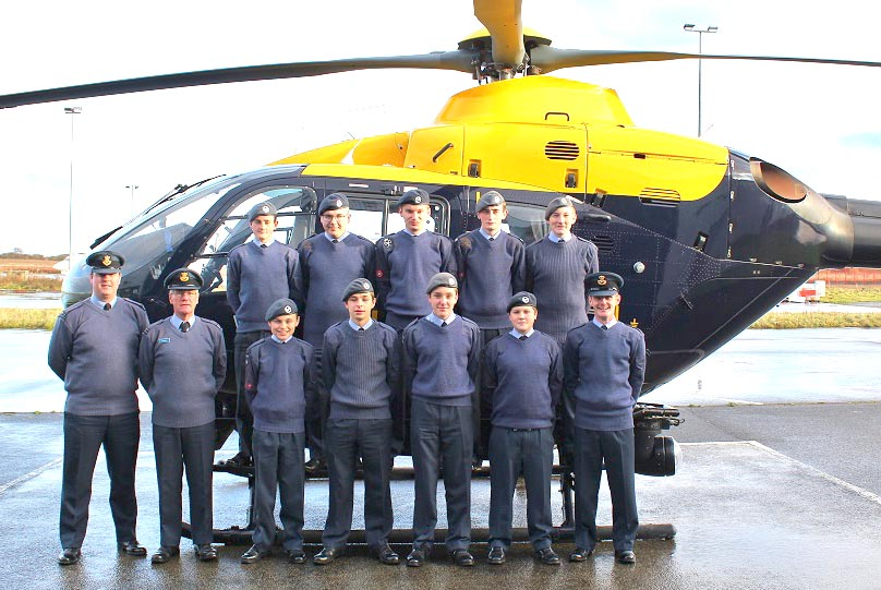 Busy Month for Air Cadets