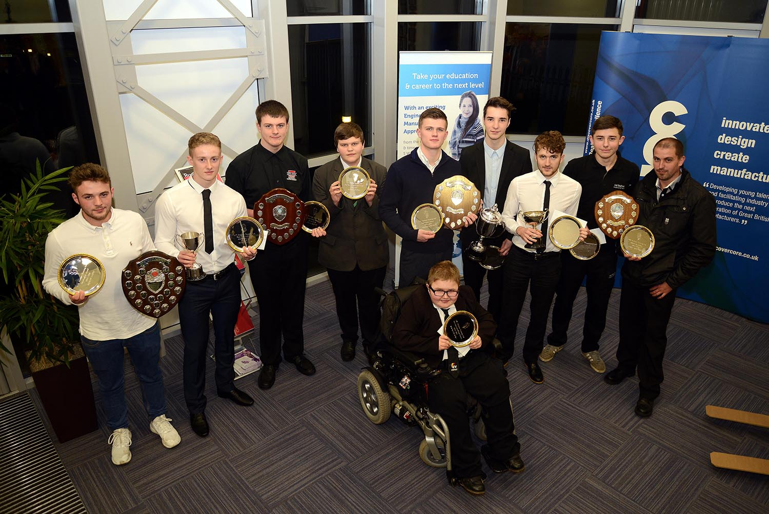 Top Ten Apprentices Receive Awards