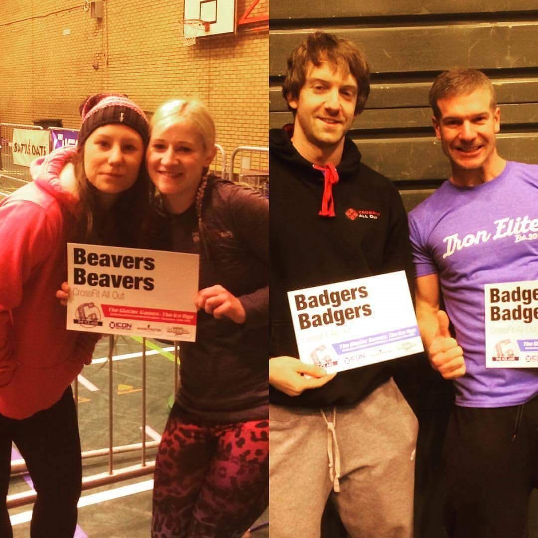 """Crossfit All Out at  Gateshead """"Glacier Games"""""""