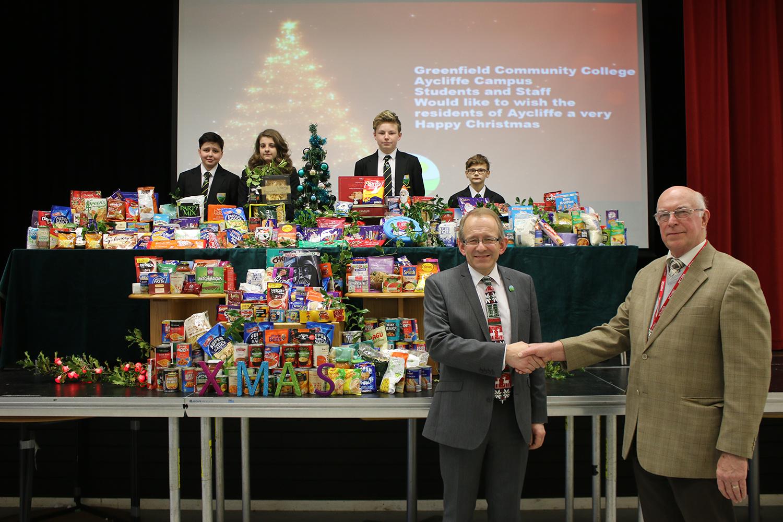 Aycliffe Churches & Schools Help Christmas Foodbank