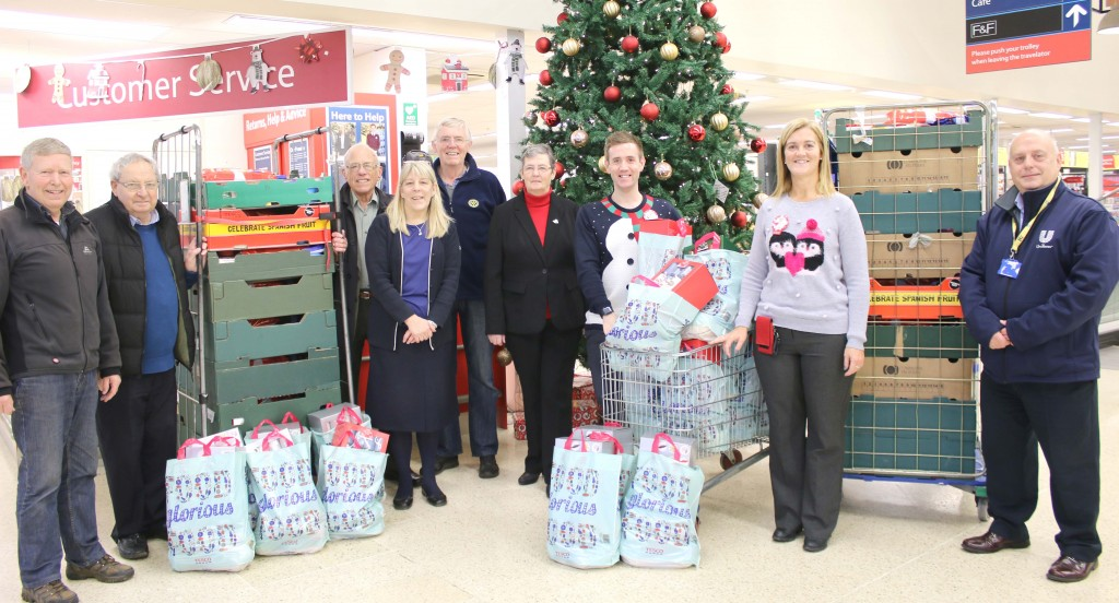 rotary club hampers
