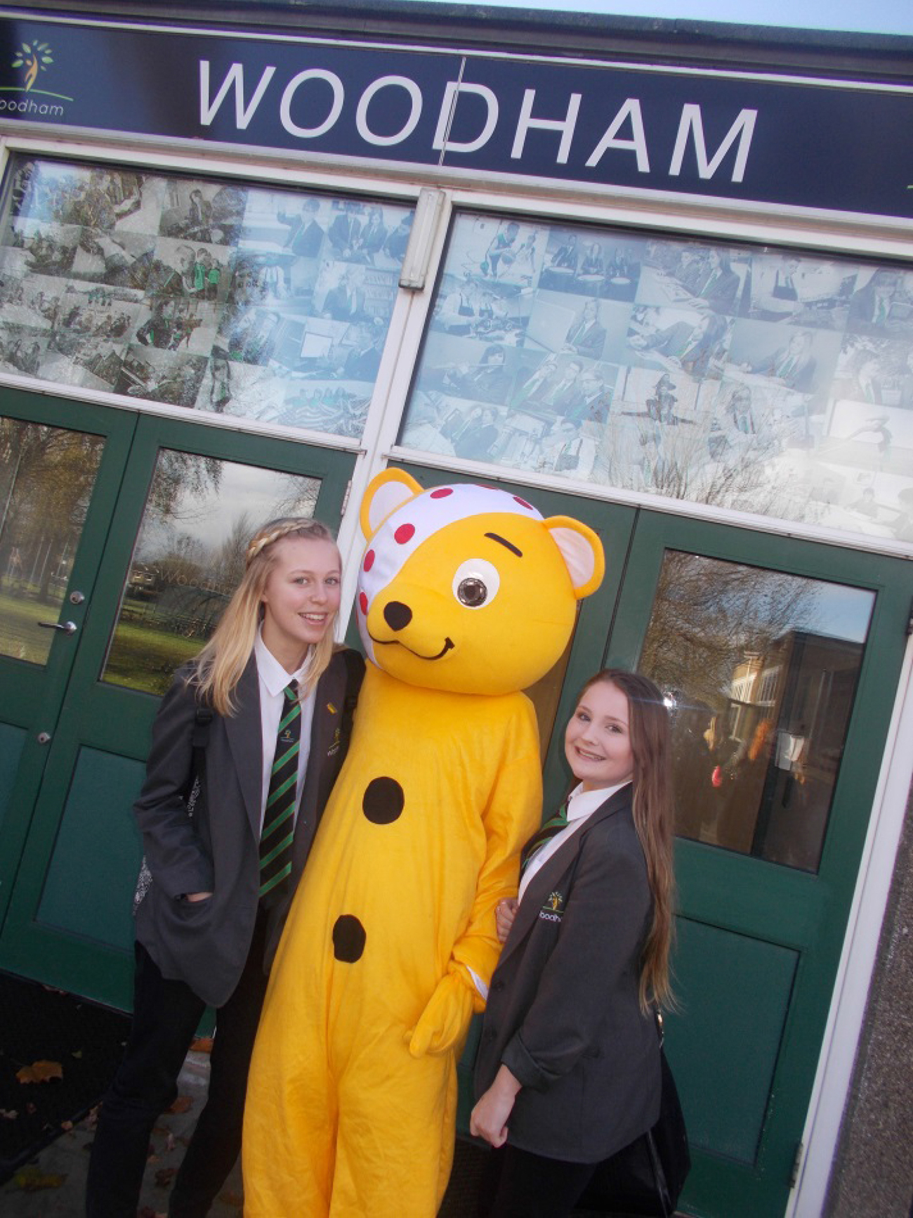 Children in Need Thank Woodham Students