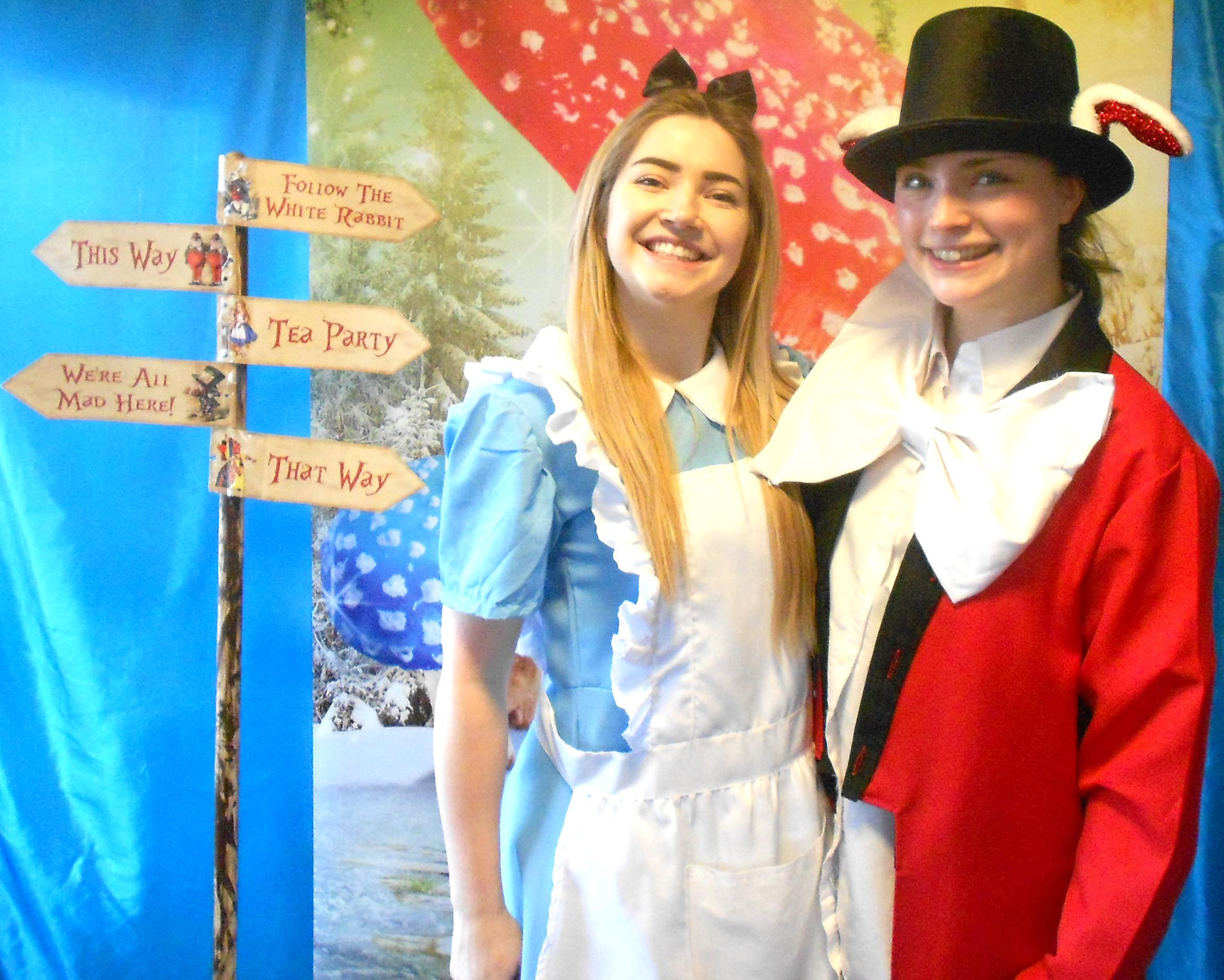 Panto at Town Care Home