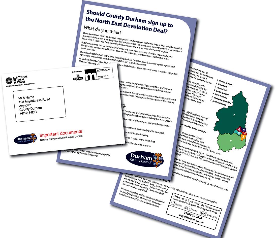 Durham Devolution Poll