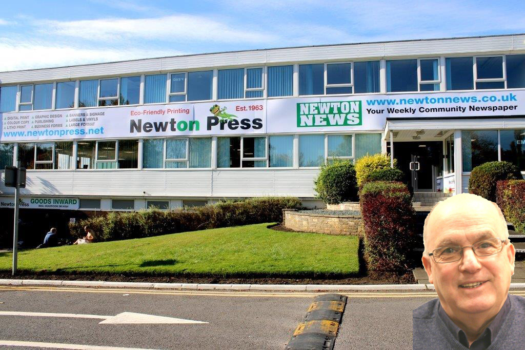 M.B.E. For Newton News Founder