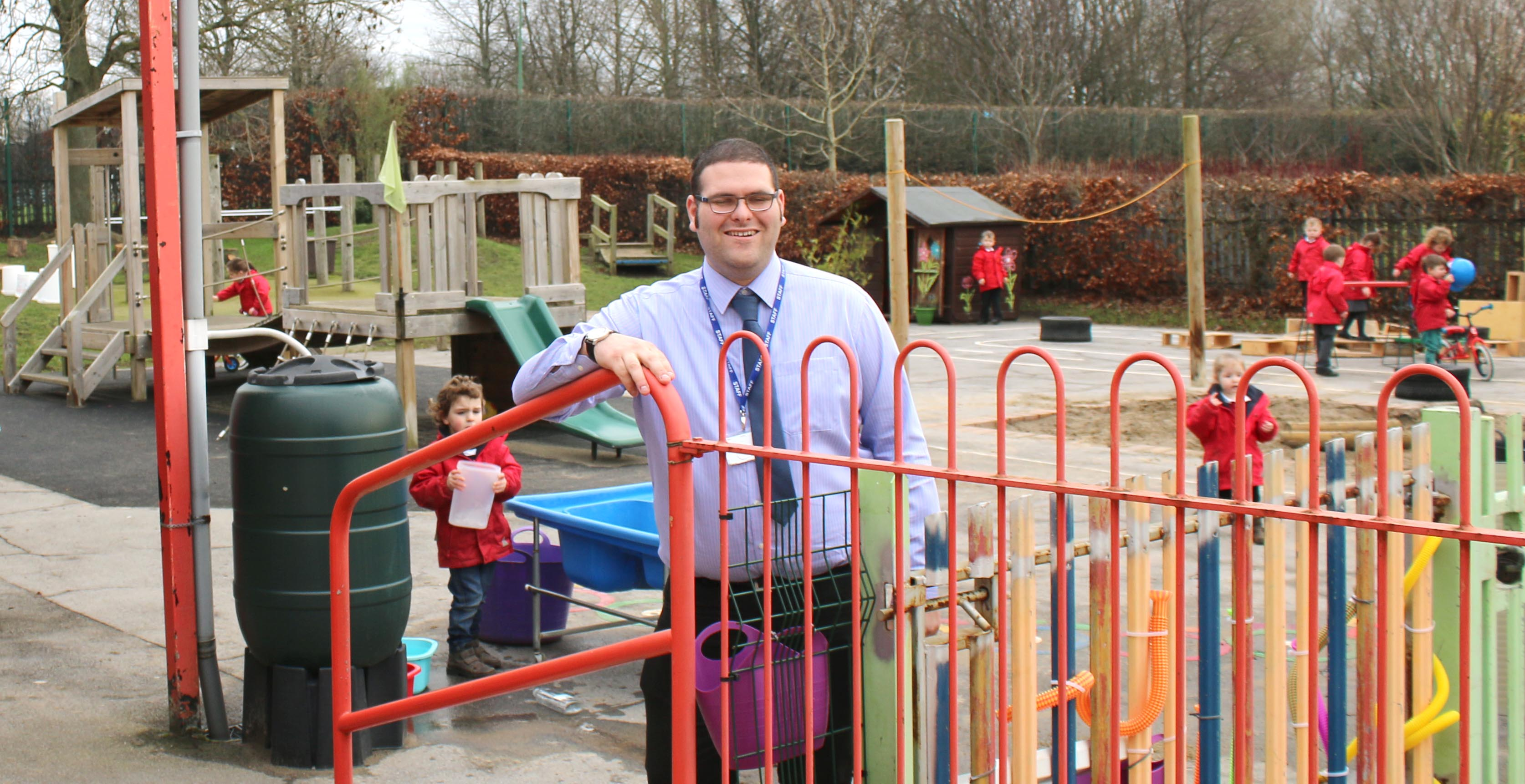 One of UK's Youngest Head Teachers at St. Joseph's