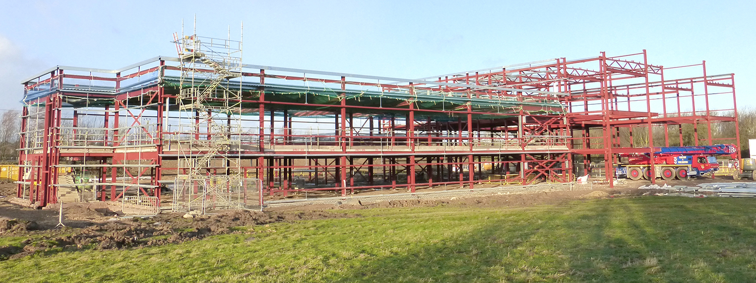 Aycliffe's New £9m Training College on Schedule