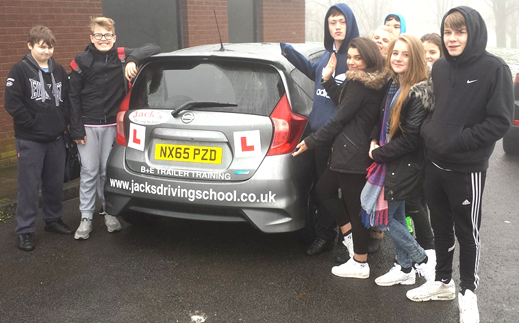 Driving School's Road Safety Training for Young People