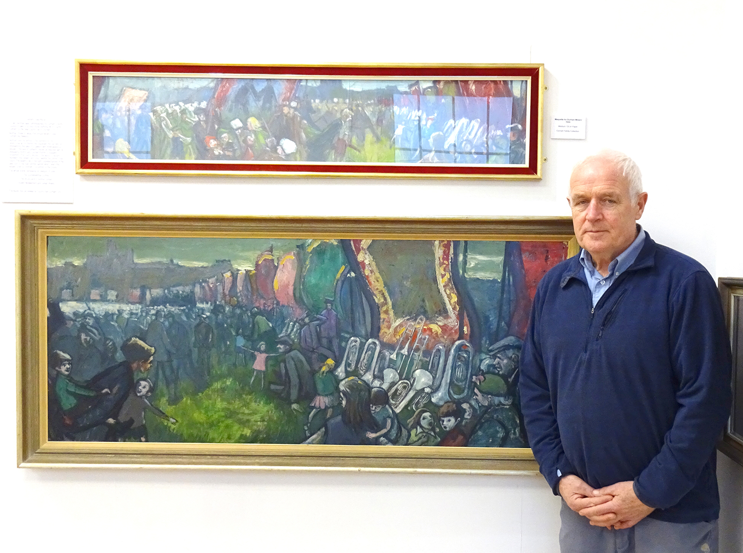 Gallery Room Dedicated in Memory of Norman Cornish MBE